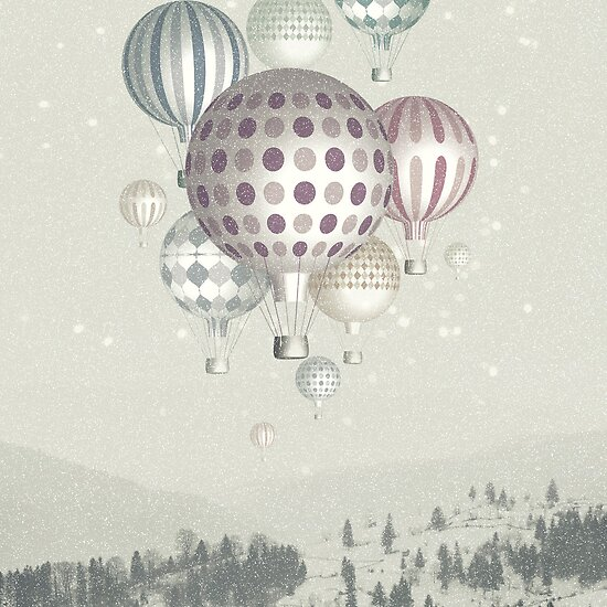 Winter Dreamflight by Paula Belle Flores