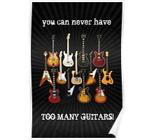 Too Many Guitars! Poster