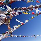 prayer flags by artvagabond