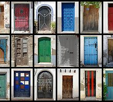 Spanish Doors by Michiel Meyboom