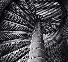 Egmont Key Lighthouse Monochrome HDR by MKWhite
