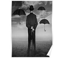 Magritte Style Poster
