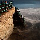 Roker - beach steps by PaulBradley