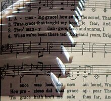 Amazing Grace iPad Case by Betty Northcutt