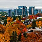 Portland in the Fall by Bryan D. Spellman
