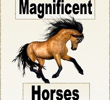 Magnificent Horses by LoneAngel
