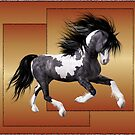 Horse 1 .. calendar by LoneAngel