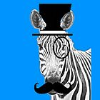 Zebra Gentleman by PirateGiraffe