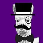 Alpaca Gentleman by PirateGiraffe