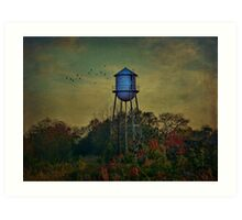 The Old Forgotten Tower Art Print