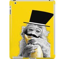 Monkey Gentleman iPad Case/Skin