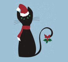 Christmas Cat Kids Clothes