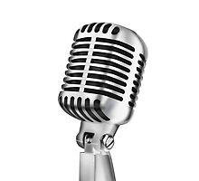 retro microphone by naphotos