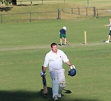 C Bayliss - Retired Hurt v The Under 12s by HighettCC