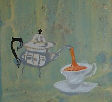 Just my cup of tea. by Bronwyn Blair