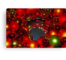 Cindi's Christmas Wreath Canvas Print