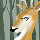 Deer by makoshark