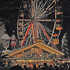 Christmas Ferris Wheel by Michael Brewer