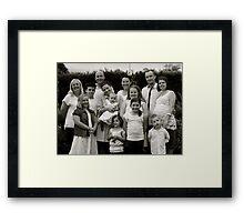Craven Family  Framed Print