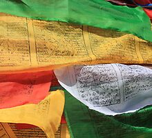 Tibetan Prayer Flags in Lhasa by TravelShots