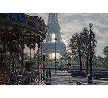 manège parisienne Photographic Print