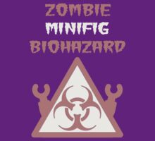 ZOMBIE MINIFIG BIOHAZARD by Customize My Minifig by ChilleeW