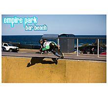 Frontside Bone Air - Empire Park Skate Park Photographic Print