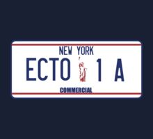 Ecto 1 A license plate by superedu