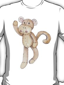 Hanging about sock monkey T-Shirt