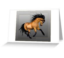 Horse 11.. calendar Greeting Card