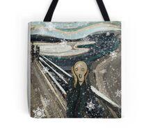 The Christmas scream Tote Bag