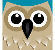 Wise Old Owl - T Shirt Photographic Print