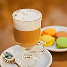 Coffee and macarons by libasic