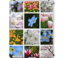 Spring Flowers Montage 1 iPad Case/Skin