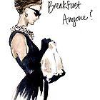 Audrey Hepburn Breakfast, Anyone? by rishann