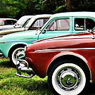 Renault Dauphine in line by htrdesigns