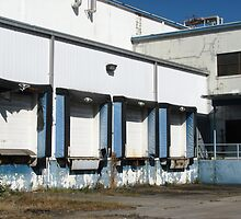 Cold storage loading docks by Mike Shell