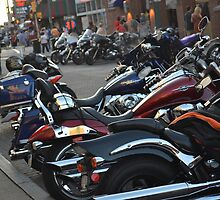 Bike Week on Beale  by Chartu Lopez-White