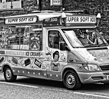 Ice Cream Truck - London by A.David Holloway