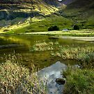 Light &amp; Shadow in the Valley of Glencoe by Angie Latham
