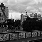 London Skyline by A.David Holloway