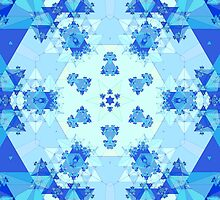 Hexagonal Fractal Pattern by bradyarnold