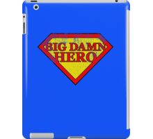 Big Damn Hero - Distressed  iPad Case/Skin