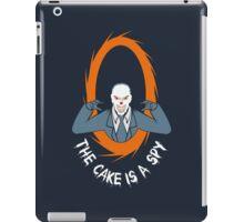 The cake is a SPY iPad Case/Skin