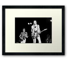 The Clash Framed Print