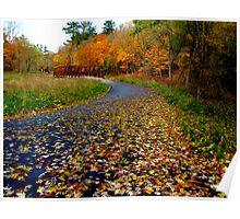 Leaf jaunt Poster