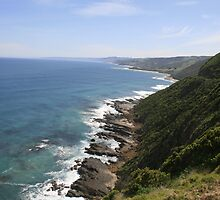 Views along the Great Ocean Road, Victoria. 1 by elphonline