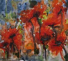 """Poppies"" by Oya Noya"
