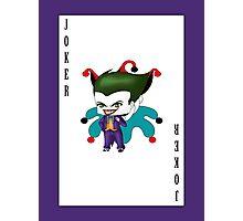 Chibi Joker Photographic Print