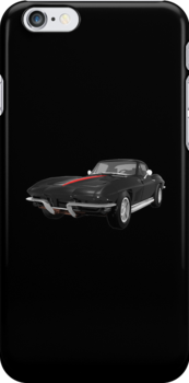 Black 1967 Corvette Stingray  by bradyarnold